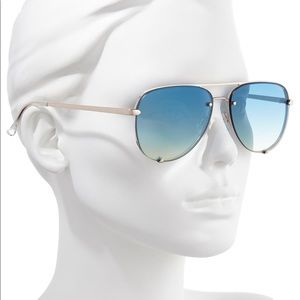 x DesiPerkins High Key Mini 59mm Rimless Sunglass